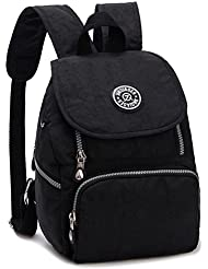 LifeWheel Womens Summer Mini Backpacks Waterproof Nylon Daypacks Schoolbag Racksack