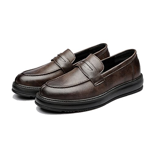 Mocasines Xhd shoes Para Papel Marrón Hombre De ZqTwqF5H
