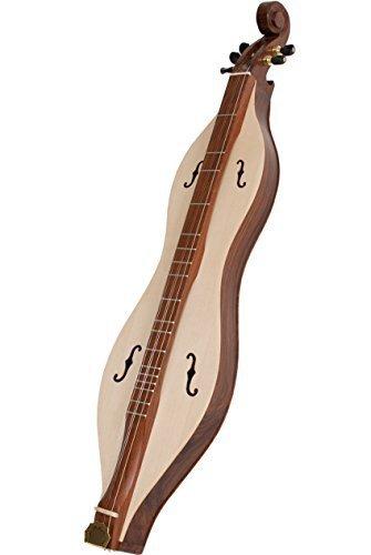 Roosebeck Emma Mountain Dulcimer 5-String Vaulted Fretboard Spruce Soundboard F-Holes by Roosebeck