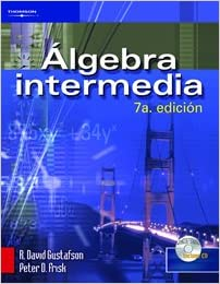 Book Algebra Intermedia