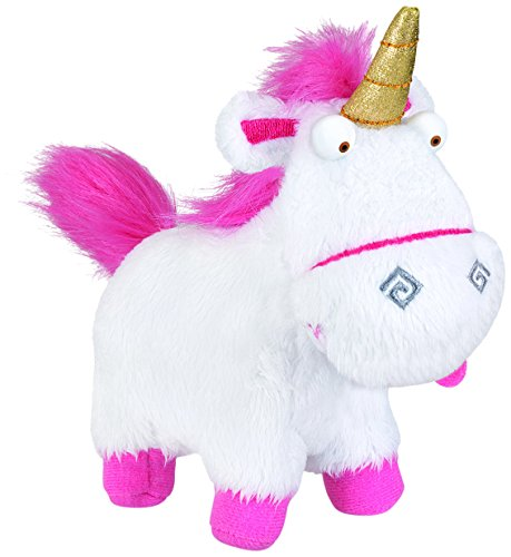 Despicable Me Plush Buddy Fluffy Unicorn Toy Figure ()