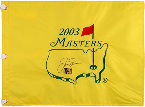 Jack Nicklaus Signed Masters - Jack Nicklaus Autographed Masters Flag - Fanatics Authentic Certified - Autographed Pin Flags