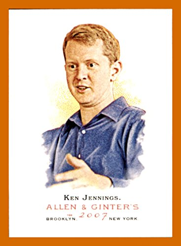 - 2007 Topps Allen and Ginter #319 Ken Jennings SP JEOPARDY CHAMPION