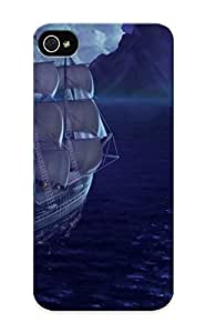 AUzffY-3362-pnfXu Runandjump Awesome Case Cover Compatible With Iphone 5/5s - Sailing Ship In The Night