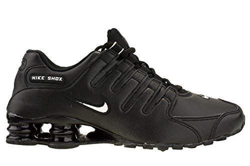 f1756ea58ea Galleon - Nike Men s Shox NZ Running Shoe Black White Black - 8 D(M) US