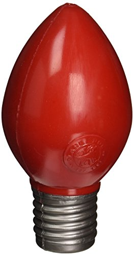 Planet Dog Orbee-Tuff Bulb with Treat Spot, Red