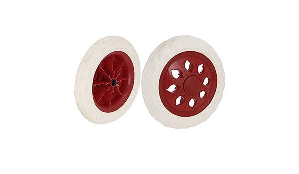 Compras rueda Caliente de diseño de rueda Ruedas Beige Rojo 2 piezas: Amazon.com: Industrial & Scientific