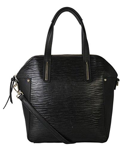 rimen-co-fashion-pu-leather-structured-tote-handbag-tg-2909-black