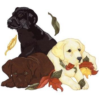 """Hundesportweste oliv incl. hochwertigem Rückenstick """"Labrador Retriever Welpen""""DG0517"""