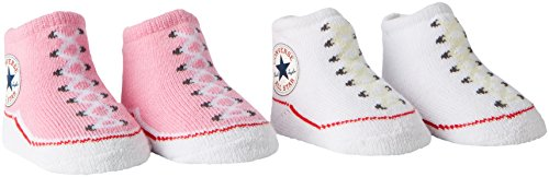 Converse Baby Girls 2 Pack Booties Socks