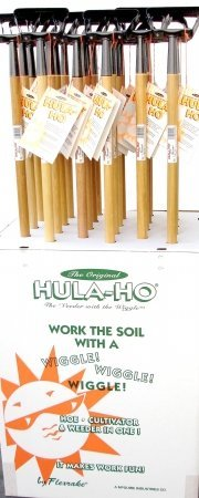 Flexrake 1000L-24D 54'' Handle Hula-Ho® Weeder 24 Count Display