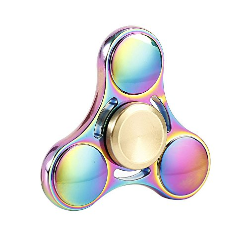 New Version Fidget Spinner Durable Toy High Speed 3-5 Min Spins Tri-spinner Precision Colorful Metal Zinc Alloy Hand Spinner