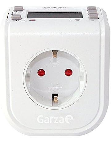 Garza Power - Temporizador-programador digital MINI, 16 programas, 24 horas