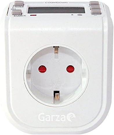 /Prise programmable num/érique Mini Garza Power/ 24/Heures 16/programmes