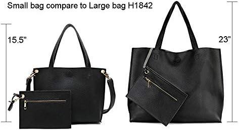 9B54 New Women Hobo Large Leather Shoulder Bag Messenger Satchel Tassel Handbag