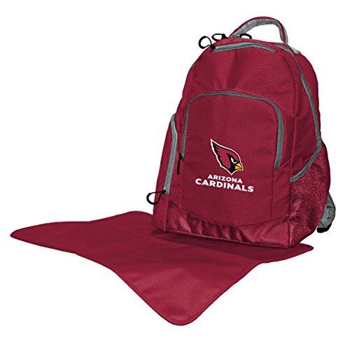 NFL Arizona Cardinals Diaper Backpack, 17 x 13.5