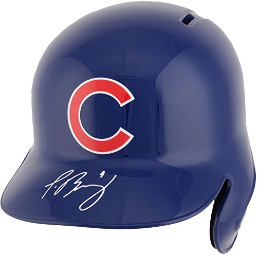 Javier Baez Chicago Cubs Autographed Replica Batting Helmet - Fanatics Authentic Certified - Autographed MLB Helmets