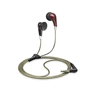 Sennheiser MX 471 In-Ear Stereo Headphones with LiveBass (Red)(Ergonomic Fit) (Discontinued by Manufacturer)