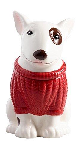 Terrier Cookie Jar - Bull Terrier Ceramic Cookie Jar