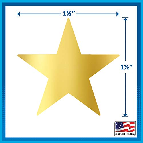 Buy gold stars stickers