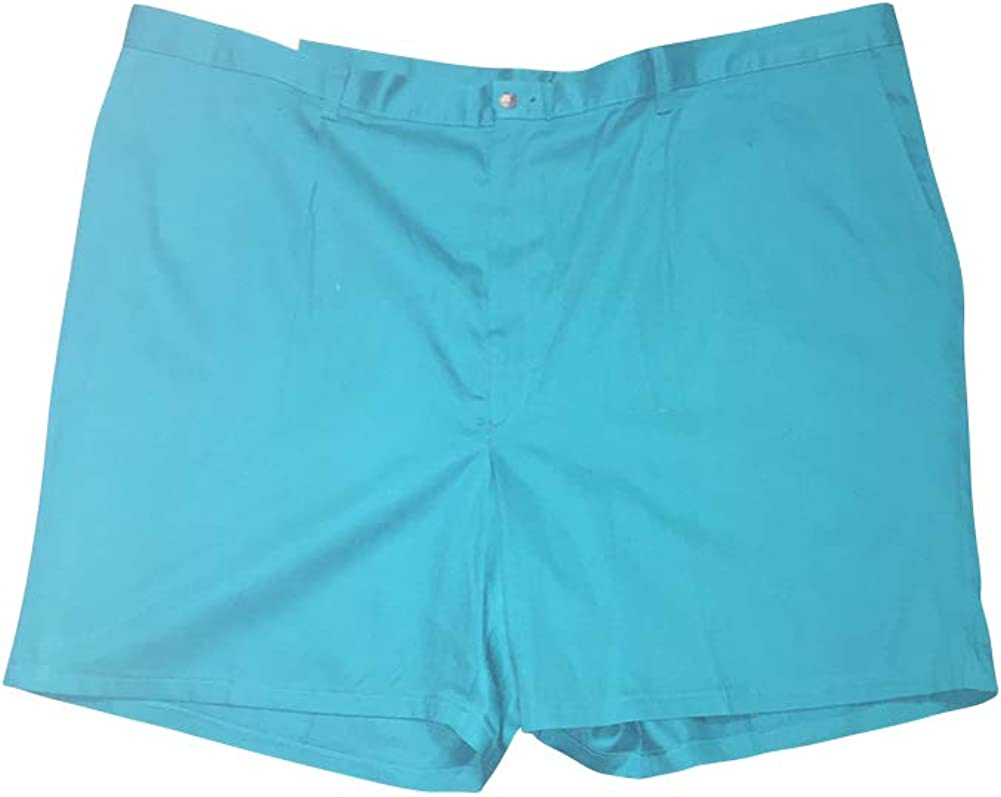 J. Canfield Teal Big and Tall 100% Cotton Shorts Made in USA