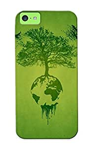Charlesvenegas New Arrival Gkxtvz-3122-mihhcyr Premium Iphone 5c Case(trees Artistic Earth Digital Art Ecosystem )