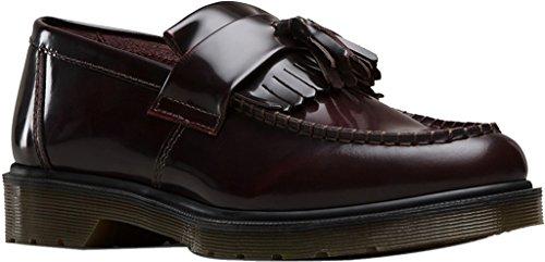 Dr  Martens Unisex Adrian Loafer  Cherry Red  9 Uk 11 M Us Women 10 M Us Men