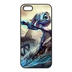 iPhone 5 5s Cell Phone Case Black League of Legends Fizz 0 KWI8917339KSL