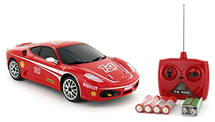 Amazon.com: 1: 24 oficial Ferrari F430 Challenge Electric ...