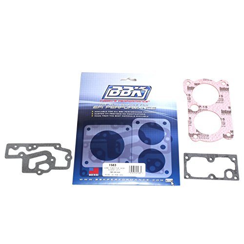 BBK 1583 Twin 52mm Throttle Body Gasket Kit for GM Twin 305/350