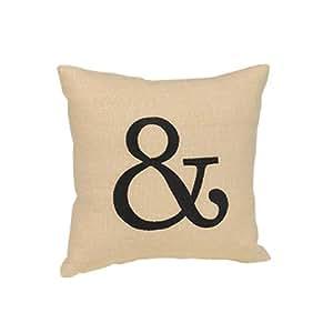 Hortense B. Hewitt Ampersand Linen Pillow