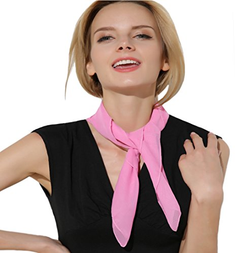 Pink Scarf 50s 26