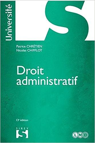 Livres gratuits en ligne Droit administratif - 13e éd.: Université pdf