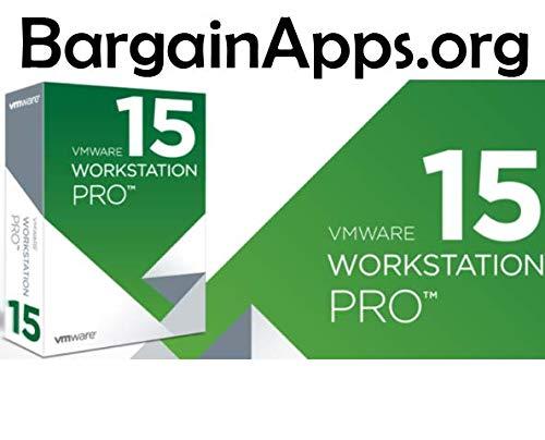 Amazon com: VMware Workstation 15 Pro (Download+License Key