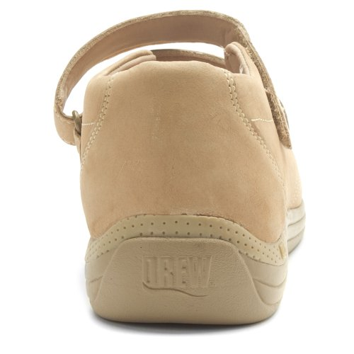 and Orchid Hook Loop Drew Shoe Taupe Drew Shoe Womens Nubuck qSwqa6RO
