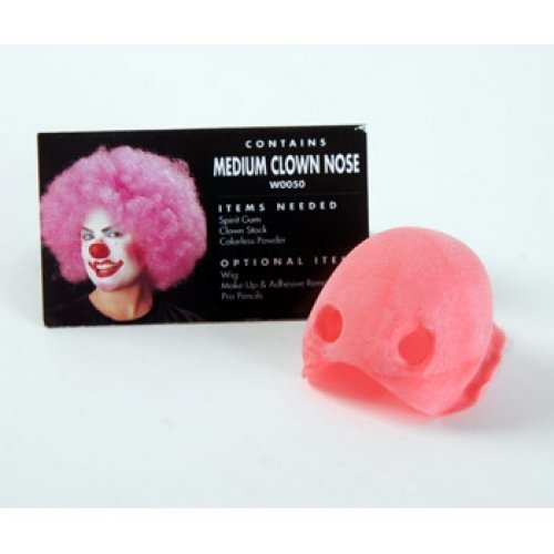 Cinema Secrets Woochie Latex Clown Nose Appliance, Medium (Woochie Clown Nose Appliance)