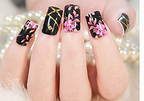 Buy Nail Art Stickers 46 Online At Low Prices In India Amazon