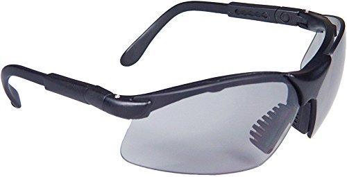 Radians Revelation Protective Shooting Glasses (Dark Smoke Lens/Black - Glasses Polarized Shooting