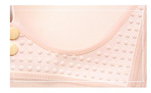 Anti Qirui Nursing Bra Underwear Breathable Pink Hole sag Gathered wHXgTHq