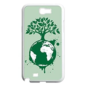 Designed High Quality The Earth Image , Only Fit Samsung Galaxy Note 2 N7100