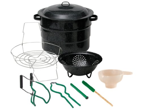 Granite Ware 0718-1 Enamel-on-Steel Canning Kit, 9-Piece