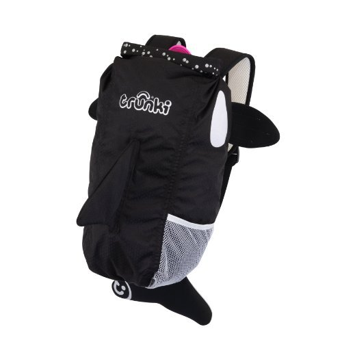 Black by Trunki Water Resistent Kids Backpack Kaito Trunki PaddlePak Back Pack