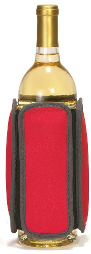 Rabbit Wine and Beverage Chiller (Red) - Rabbi Wine Bottle