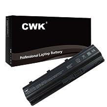 CWK® High Performance New Battery for HP CQ62 MU09 Laptop Notebook Computer [6 cells 5200mAh (4400mAh compatible) 11.1V] 24 Months Warranty