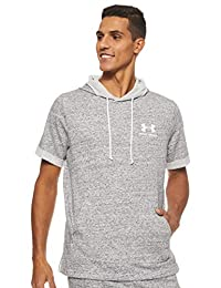 Under Armour Mens Sportstyle Terry Short Sleeve Hoodie Hoodie