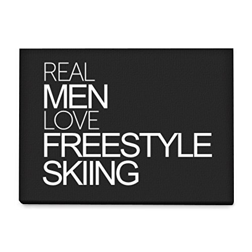 freestyle skiing poster
