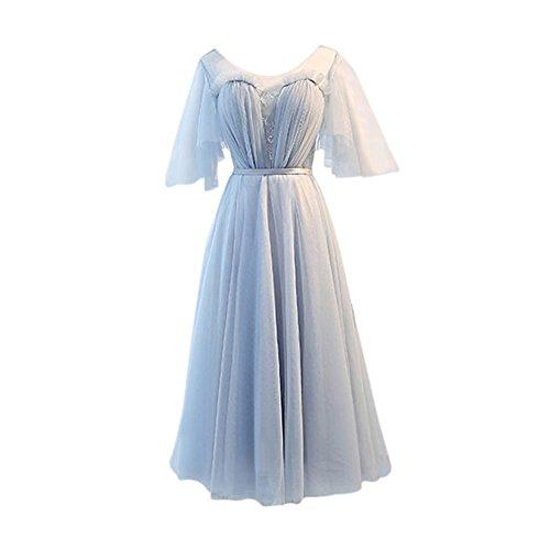 Para Vestido Corte 4 Imperio Drasawee Mujer q0Zvdttx