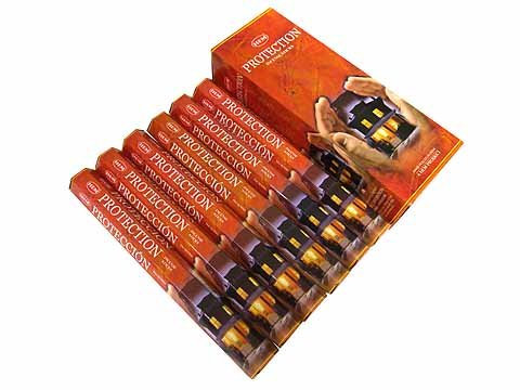 1 X Protection - Box of Six 20 Stick Tubes - HEM Incense (Hem Protection Incense compare prices)