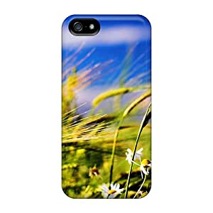 For HTtfe1525CHAXL Flower And Weath Protective Case Cover Skin/iphone 5/5s Case Cover