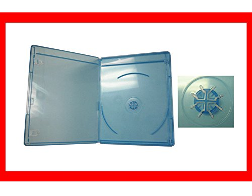 New 6 Pk Viva Elite 6mm Slim Blu-Ray Replace Case Single 1 Disc Holder Box DVDC-1055